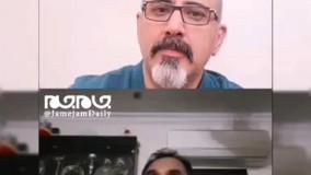 غافلگیری قهرمان وزنه برداری جهان بر اثر زلزله تهران!