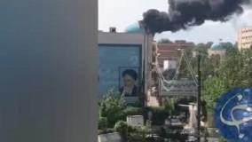 آتشسوزی در دانشگاه خواجه نصیرالدین طوسی