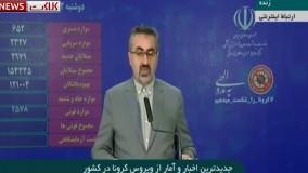 آمار مبتلایان و فوتی های ویروس کرونا در ایران (99/03/12)