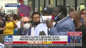 برادر «جورج فلوید»هم شاکی شد: غارتگری را متوقف کنید