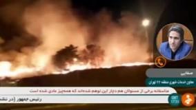 شهرداری تهران:  آتش سوزی چیتگر عمدی بوده است