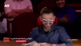 جدال لفظی بشیر حسینی و رویا نونهالی