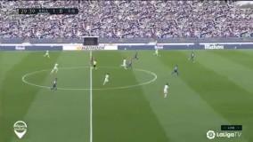 خلاصه بازی رئال مادرید 3 - ایبار 1