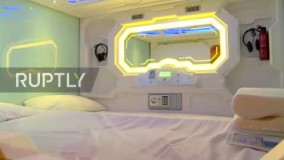 نخستین هتلهای کپسولی که در ایران رونمایی شد