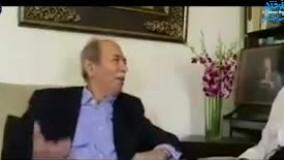 آوازخوانی علی نصیریان برای محمدعلی کشاورز