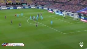 خلاصه بازی بارسلونا ۲-۰ لگانس