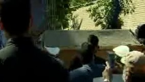 برگزاری آیین بدرقه محمدعلی کشاورز به خانه ابدی