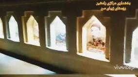 یادمان شهدای روستای سین رامشیر استان خوزستان با کاهگل مقاوم و ضد آب
