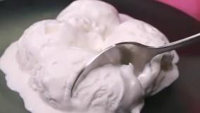 طرز تهیه بستنی وانیلی خانگی