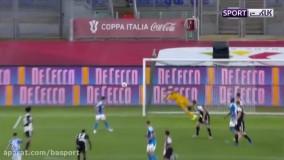 خلاصه بازی ناپولی 0-0 یوونتوس (پنالتی 4-2)