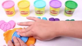 بازی و کاردستی با خمیر بازی