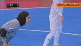 خلاصه بازی فوتسال بانوان ایران و ژاپن - فینال جام ملتهای آسیا