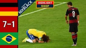 یادی کنیم از این بازی معروف آلمان ۷ - برزیل ۱