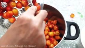 طرز تهیه مربا: مربای گیلاس خوشمزه و خوش رنگ