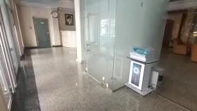 نصب تونل ازون شرکت پتروشیمی جهان پارس