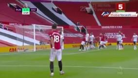 خلاصه بازی منچستریونایتد 3 – شفیلدیونایتد 0