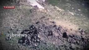 حملات موشکی، پهپادی و توپخانه ای  به مقر  تروریست ها