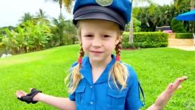 ناستیا و استیسی  بازی ناستیا و استیسی جدید : پلیس بازی