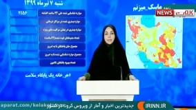 آخرین اخبار و آمار ویروس کرونا در ایران (99/4/7)