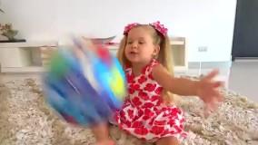 قصه گویی دیانا برای اسباب بازیها  با ۳۱ میلیون بازدید در یوتیوب