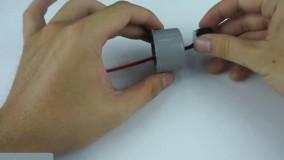 آموزش ساخت چراغ قوه پلیسی با لوله آب پُلیکا