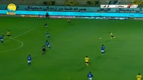 خلاصه بازی سپاهان 2 - گل گهر 0