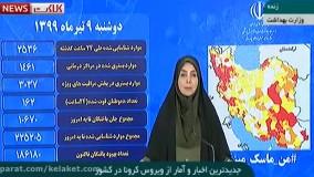 آخرین اخبار و آمار ویروس کرونا در ایران (99/04/09)