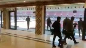 نمای داخلی زیبای استادیوم AL-bayt قطر