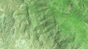 تصاویر ماهوارهای از جنگل گچساران پس از حریق