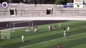 فوتبال بدون تماشاگر در سوریه که خبرساز شد!