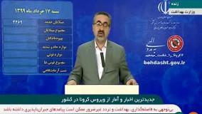 آخرین آمار مبتلایان و فوتی های ویروس کرونا در ایران (99/03/17)