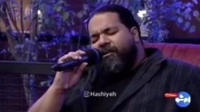 اجرای زنده آهنگی از پوران توسط رضا صادقی