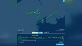 ابتکار دیدنی خلبان کانادایی برای یادبود «جورج فلوید»