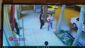 حرکت برق آسای فروشنده برای نجات کودک