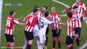 لحظات عصبانیت مسی و رونالدو