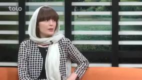 پاسخ فرشته حسینی بازیگر ایرانی افغان به شیطنت مجری شبکه طلو
