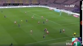 اشتباه جدید خیابانی در حین گزارش بازی بارسلونا