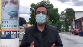 جریمه ۵۰۰ یورویی ماسک نزدن در آلمان