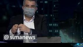 ماجرای ماسک عجیب معاون وزارت بهداشت