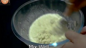 طرز تهیه  اسنک سبزیجات ؛  سوجی داکلا