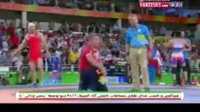 حسن یزدانی ؛ فینال المپیک ریو 2016 ؛  گزارش رادیو ؛ یک دقیقه پایانی