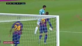 خلاصه بازی بارسلونا 1 - اوساسونا 2