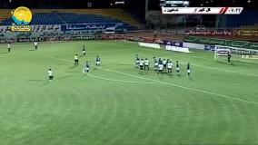 خلاصه بازی گل گهر سیرجان 4 - 2 شاهین بوشهر