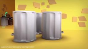 انیمیشن تام گربه سخنگو : این قسمت قوطی