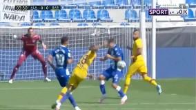 خلاصه بازی آلاوس 0-5 بارسلونا (دبل مسی)