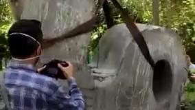 مجسمه «ما» به پارک لاله بازگشت