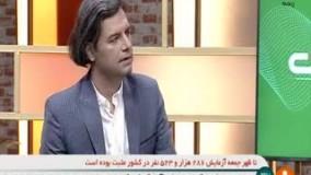 مجری برنامه شبکه خبر دلار را پاره کرد