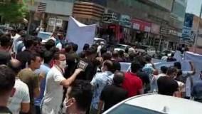 عدم ترخیص کالا باز هم بازاریان «قشم» را به خیابانها کشاند