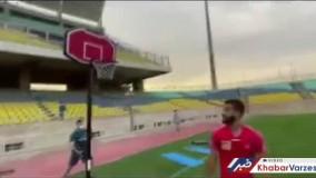 چالش بسکتبالی علیپور، نوراللهی و گلمحمدی