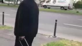 فیلمی از قاضی منصوری در حال مراجعه به سفارت ایران